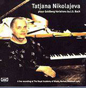 Tatjana Nikolajeva plays Goldberg Variations by J.S. Bach
