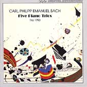 CPE Bach: Five Piano Trios / Trio 1790