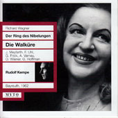 Wagner: Die Walkure / Fritz Uhl, Gottlob Frick, Otoo Wiener, Jutta Meyfarth, Astrid Varnay, Grace Hoffman (Bayreuth, 1962)