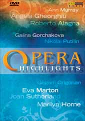 Opera Highlights Vol. 1 / Horne, Sutherland, Alagna, Georghiu, et al [DVD]