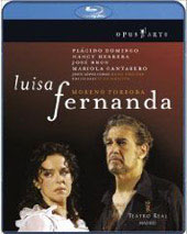 Torroba: Luisa Fernanda / Lopez Cobos/Madrid SO, Domingo, Herrera, Bros [Blu-Ray]