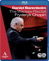 The Warsaw Recital / Daniel Barenboim Plays Chopin [Blu-Ray]