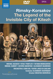 Rimsky-Korsakov: The Legend of the Invisible City of Kitezh / Vedernikov, Kazakov, Panfilov, etc [2 DVD]