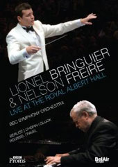 Lionel Bringuier & Nelson Freire Live at the Royal Albert Hall - Chopin: Piano Concerto no 2; Berlioz, Roussel, Ravel, Gluck [DVD]
