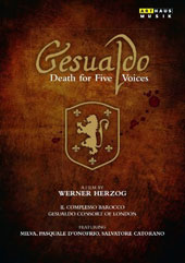 Gesualdo - Death for Five Voices, a documentary film on the life of Don Carlo Gesualdo by Werner Herzog / Milva, Pasquale d'Onofrio, Salvatore Catorano (filmed on location in Italy) [DVD]