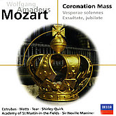 Mozart: Coronation Mass K.317, Litaniae Lauretanae K.195, Etc.