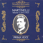 Prima Voce - Martinelli Vol 2 1913-1923