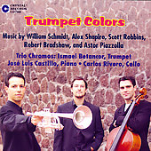Trumpet Colors - Piazzolla, etc / Trio Chromos