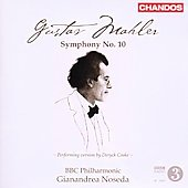 Mahler: Symphony no 10 (Version by Cooke) / Noseda
