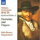 W.F. Bach: Keyboard Works Vol 2 / Julia Brown