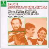 Bruch: Works for Clarinet & Viola