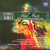 Vocal Music of Barbara Harbach