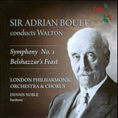 Sir Adrian Boult conducts Walton