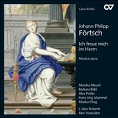 Johann Philipp Förtsche: I am glad in the Lord, sacred music