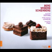Berg, Webern, Schoenberg / Quatuor Diotima
