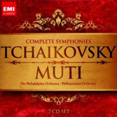 Tchaikovsky: Complete Symphonies / Muti - Philadelphia & Philharmonia Orchestras