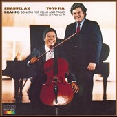 Brahms: Sonatas for Cello & Piano / Yo-Yo Ma, cello; Emanuel Ax, piano