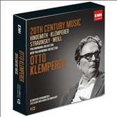 Otto Klemperer conducts Twentieth Century Music - works by Hindemith, Klemperer, Stravinsky, Weill [4 CDs]