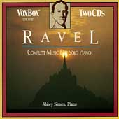 Ravel: Complete Music for Solo Piano / Abbey Simon