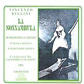 Bellini: La Sonnambula / Gavazzeni, Carosio, Monti, et al
