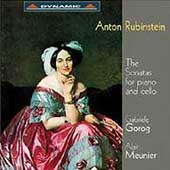 Rubinstein: Sonatas for Cello & Piano / Gorog, Meunier