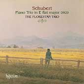 Schubert: Piano Trio in Eb D 929 / The Florestan Trio
