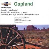 Copland: Appalachian Spring, etc / Zinman, Dorati, et al