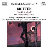 The English Song Series 9 - Britten