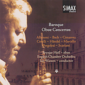 Baroque Oboe Concertos / B. Hoff, I. Watson, English CO