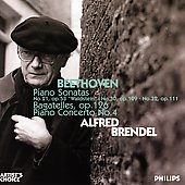 Beethoven: Piano Sonatas, etc / Alfred Brendel, et al