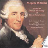 J.F. Haydn: Symphonies nos 43, 44, 48, 50, 61 & 91; 12 German Dances; Cello Concerto in D / Mogens Woldike