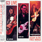 Joe Satriani: G3 Live: Rockin' In The World