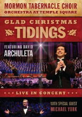 Glad Christmas Tidings Featuring David Archuleta / Mormon Tabernacle Choir [DVD]