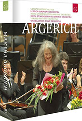 Martha Argerich Box - Bloody Daughter; Evening Talks; A Martha Argerich Celebration; Martha Argerich & Daniel Barenboim at Teatro Colón; Martha Argerich in Verbier; Martha Argerich Compilation [7 DVD]