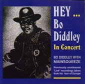 Bo Diddley: Hey Bo Diddley/In Concert