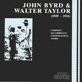 John Byrd (Guitar): John Byrd & Walter Taylor