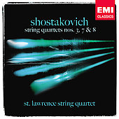 Shostakovich: String Quartets no 3, 7 & 8 / St Lawrence String Quartet
