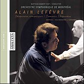 Romantic Rhapsodies / Alain Lef&egrave;vre