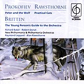 Prokofiev: Peter and the Wolf;  Britten, etc / Leppard