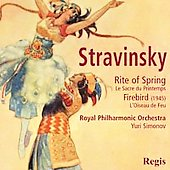 Stravinsky: Rite of Spring, Firebird / Simonov, Royal PO