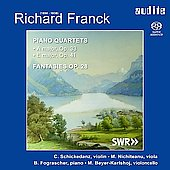 Richard Franck: Piano Quartets, etc / Fograscher, et al