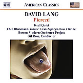 American Classics - Lang: Pierced, Heroin, Wed, etc / Rose, Bleckmann, Real Quiet, et al