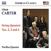 American Classics - Carter: String Quartets no 2, 3 & 4 / Pacifica Quartet