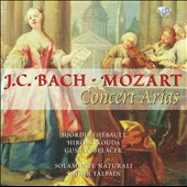 J.C. Bach, Mozart: Concert Arias / Hiroko Kouda