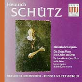 Schuetz: Musikalische Exequien, etc / Rudolf Mauersberger