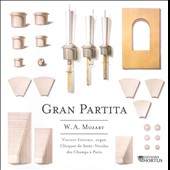 W.A. Mozart: Gran Partita transcribed for organ / Vincent Genvrin, organ