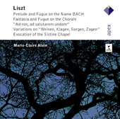 Liszt: The Great Organ Works / Marie-Claire Alain, organ