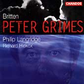 Britten: Peter Grimes / Richard Hickox, Philip Langridge
