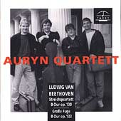 Beethoven: String Quartet, Great Fugue in Bb / Auryn Quartet