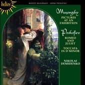 Musorgsky: Pictures at an Exhibition; Prokofiev: 10 pieces from Romeo and Juliet; Toccata / Nikolai Demidenko, piano